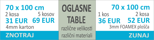 Oglasne table